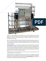 ion india limited - A Reverse osmosis plant design ans supplier