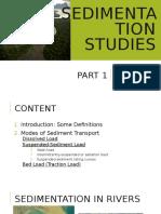 Sedimentation Part 1