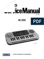 Casio M300 Service Manual