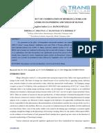 3. Ijasr - Studies on the Effect of Combination of Bioregulators and Growth