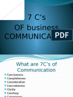 7cs of Communication