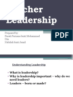Teacher Leadership Ppt