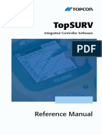TopSURV Reference Manual V7