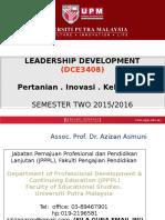 NOTE DCE3408 2 Leadersip