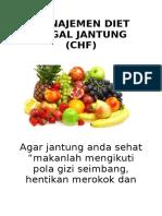 Manajemen Diet Gagal Jantung