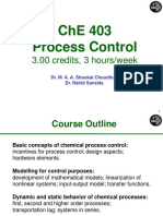 Seborg Process Control Chapter 1