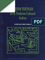 Textos Textiles en La Tradición Cultural Andina