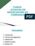 Curso Tecnicas de Negociacion