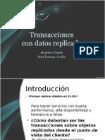 Transacciones Con Datos Replicados