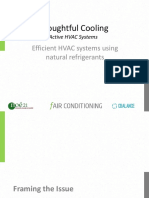 Natural Refrigerant Based Airconditioning With Module on R290 Systems