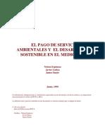 EL PAGO DE SERVICIOS AMBIENTALES Y EL DESARROLLO SOSTENIBLE.pdf