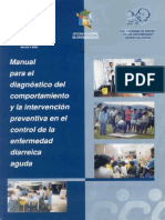 MANUAL PARA EL DIAGNOSTICO DEK COMPORTAMIENTO DE LA ENFERMEDAD DIARREICA Y LA INTERVENCION PREVENTIVA - MINSA.pdf