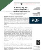 Factors Predicting the Effectiveness Of