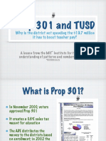 Prop 301 and TUSD