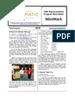 2016 Third Quarter MintMark