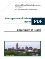 Audit of special fund management