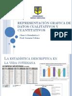 Representación Grafica de Datos Cualitativos y Cuantitativos