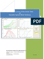 Operational Curve for Variable Speed Wind Turbines