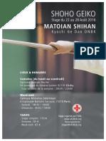 08/2016 Aikido Seminar Paris