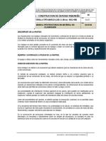01.07.01 Excavacion Manual Pestructuras Terreno Compacto