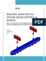 134001988 Rigging Analysis for Steam Drum Lifting by Winch Copy