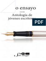 Sólo ensayo Antología de jóvenes escritores