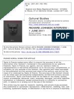 Johnson Richard Interview