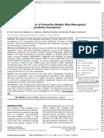 Diagnosis and Treatment OAB