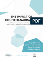 """Impact of Counter Narratives"""