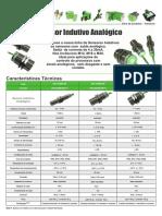 Sensor Indutivo Analogico Folheto Rev C