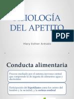 Fisiología Del Hambre y Sed
