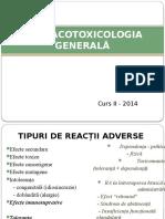 Farmacotoxicologia Generala Curs 2