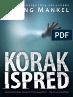 Henning Mankell - Kurt Wallander(7) Korak ispred $
