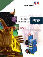 Diagnostico de Transformadores CPC100 CPTD1