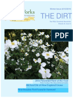Winter Issue of the Dirt 2015:16