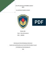 Rpp Klasifikasi Mahluk Hidup(2,8,19)