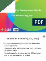 Datos sobre suicidios
