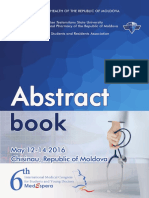 Abstract Book MedEspera 2016
