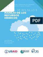 Manual Del Bolsillo; Manejo Del Recurso Agua