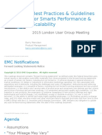 Best Practices Guidelines for Smarts Performance Scalability SAS UG London 2015v3