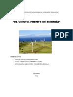 """Final, El Viento, Fuente de Energía"""""""