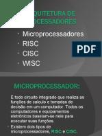 Arquiteturas de Microprocessadores