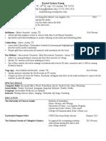 RSKonig Resume