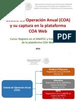 Cédula de Operación Anual México