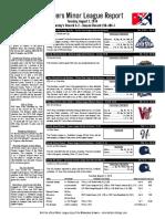 8.2.16 Minor League Report