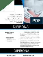 Dipirona y Hioscina