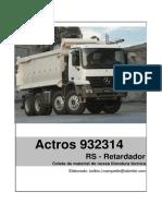 Actros GS Caixa de Mudanças e Retarder