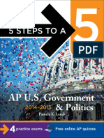 (5 Steps to a 5 on the Advanced Placement Examinations Series) Pamela Lamb-5 Steps to a 5 AP US Government and Politics, 2014-2015 Edition-McGraw-Hill (2013).epub