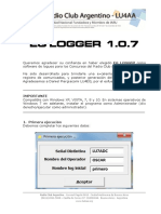 EGLogger Manual