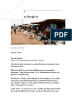 Africa's Next Slaughter_Kristof